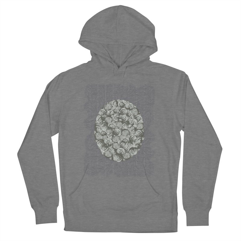 Snails All The Way Down Men's French Terry Pullover Hoody by BCHC's Artist Shop