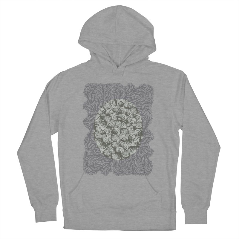 Snails All The Way Down Men's Pullover Hoody by BCHC's Artist Shop