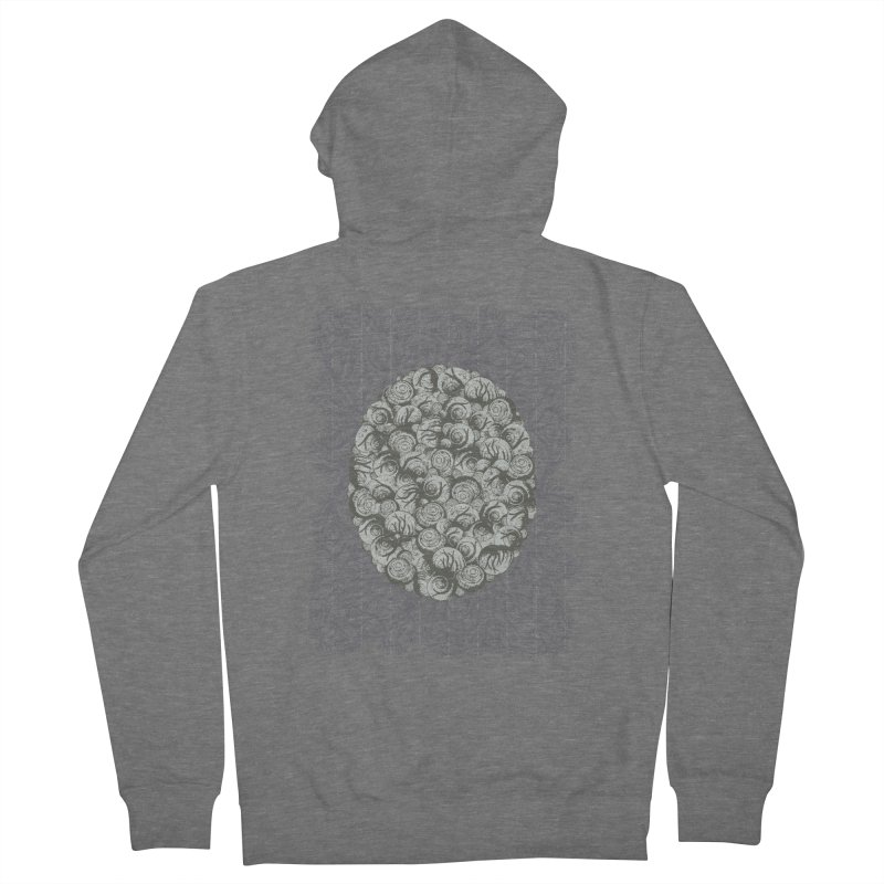 Snails All The Way Down Women's French Terry Zip-Up Hoody by BCHC's Artist Shop