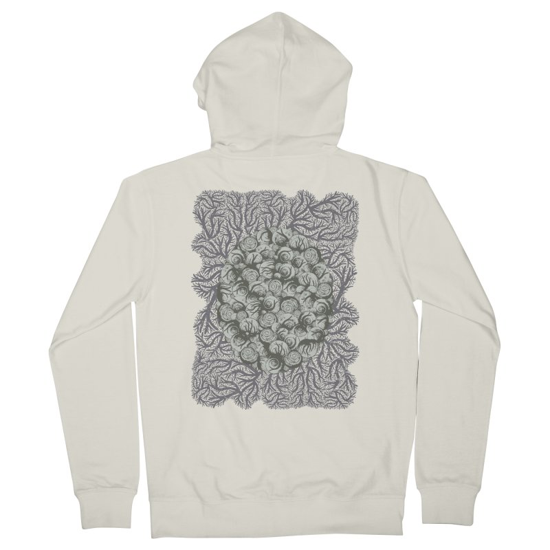 Snails All The Way Down Men's Zip-Up Hoody by BCHC's Artist Shop