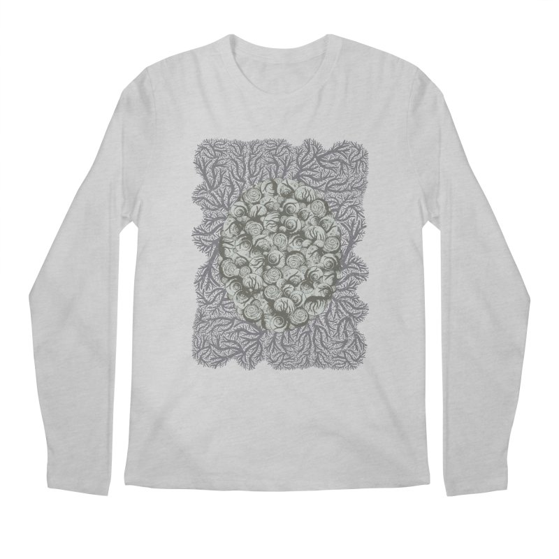 Snails All The Way Down Men's Longsleeve T-Shirt by BCHC's Artist Shop