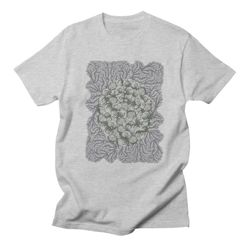 Snails All The Way Down Men's Regular T-Shirt by BCHC's Artist Shop