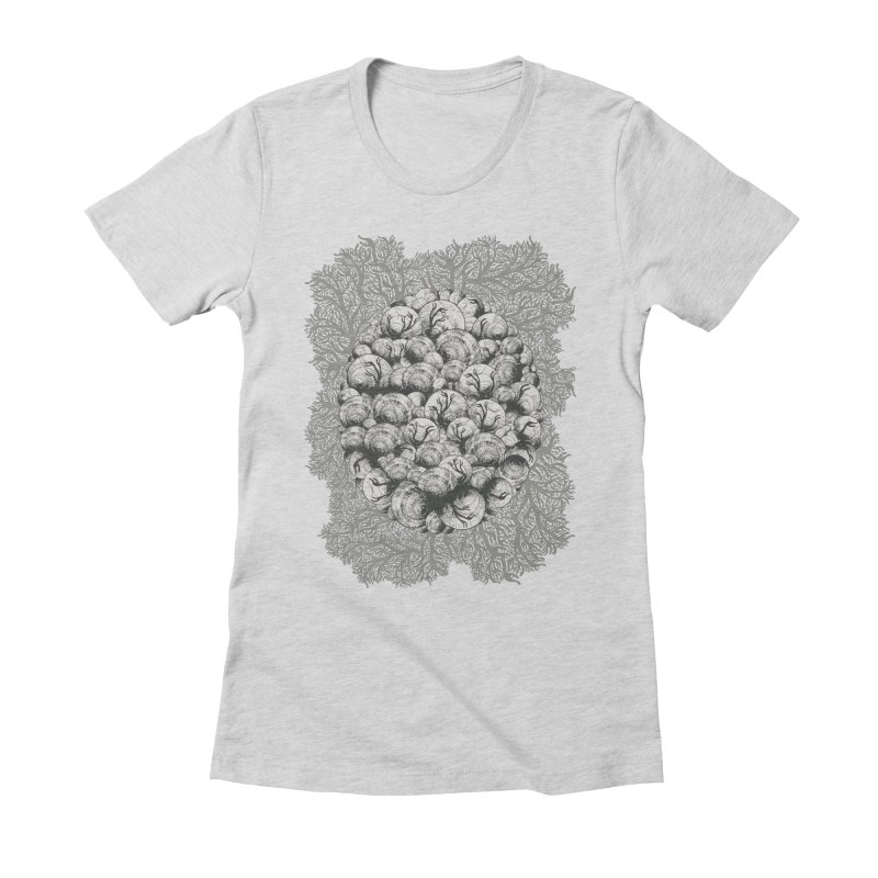 When Zombie Snails Attack Women's Fitted T-Shirt by BCHC's Artist Shop