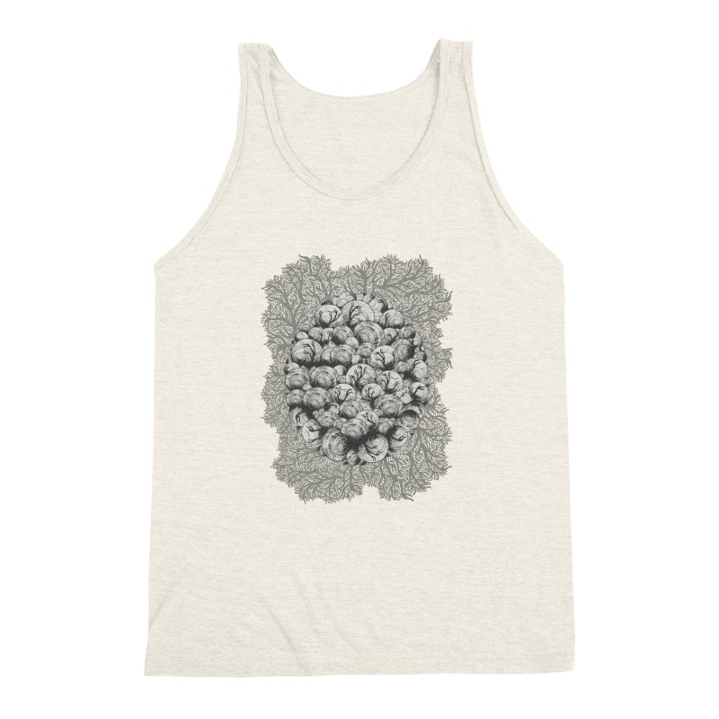 When Zombie Snails Attack Men's Triblend Tank by BCHC's Artist Shop