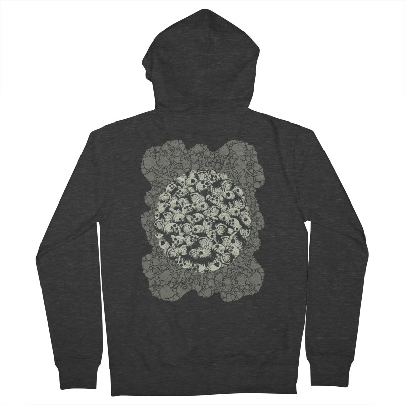 Where No Snail Has Gone Before Men's French Terry Zip-Up Hoody by BCHC's Artist Shop