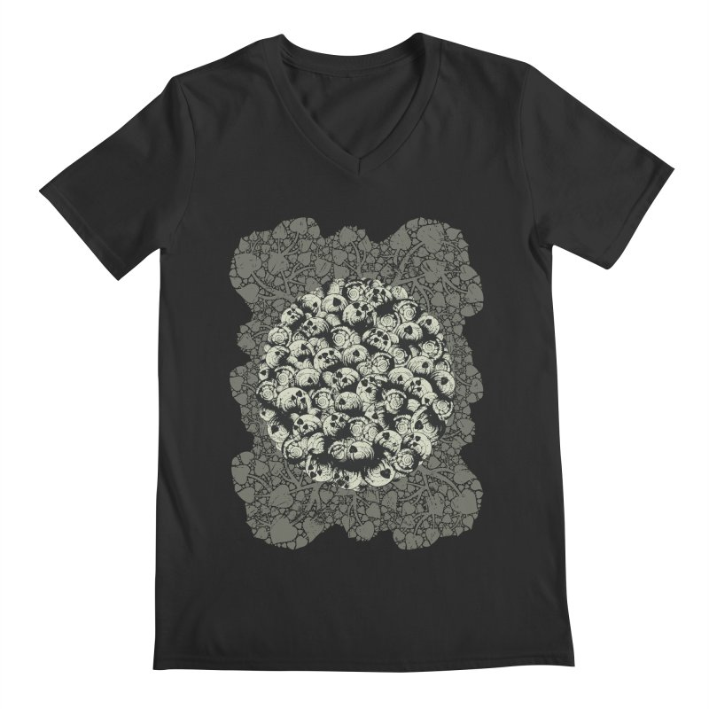 Where No Snail Has Gone Before Men's V-Neck by BCHC's Artist Shop