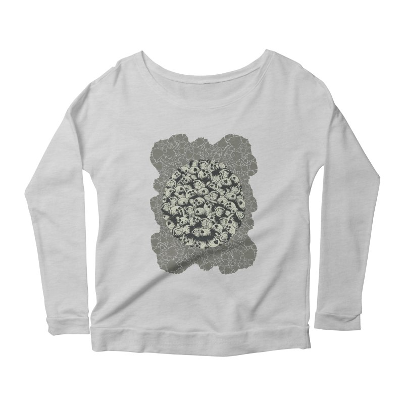 Where No Snail Has Gone Before Women's Scoop Neck Longsleeve T-Shirt by BCHC's Artist Shop