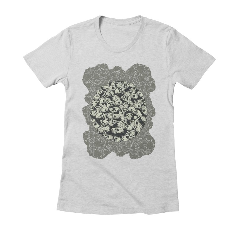 Where No Snail Has Gone Before Women's Fitted T-Shirt by BCHC's Artist Shop