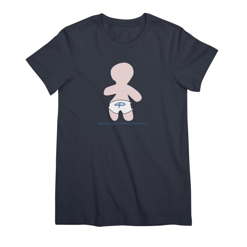 The Toddler Superhero Women's Premium T-Shirt by OFL BDTS Shop