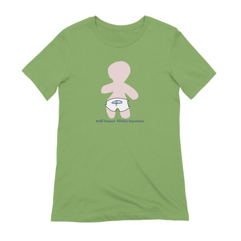 The Toddler Superhero Women's Extra Soft T-Shirt by OFL BDTS Shop