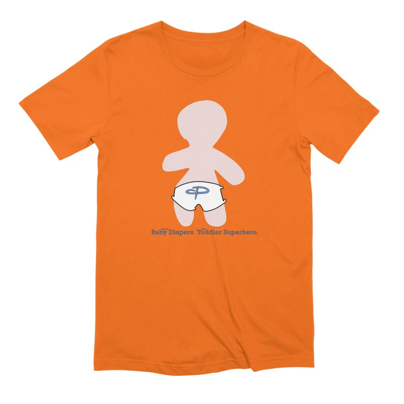 The Toddler Superhero Men's Extra Soft T-Shirt by OFL BDTS Shop