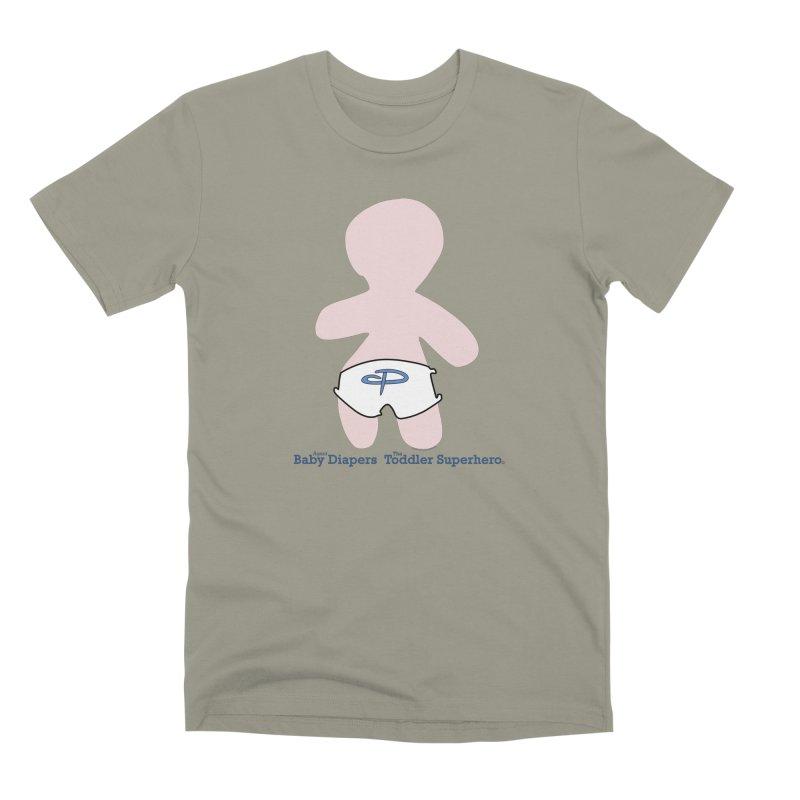The Toddler Superhero Men's Premium T-Shirt by OFL BDTS Shop