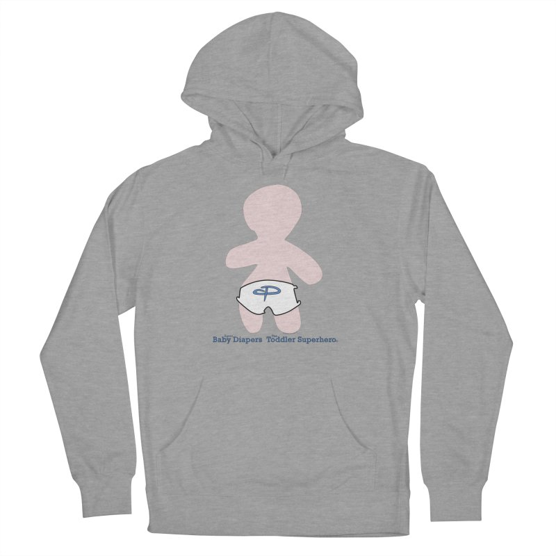 The Toddler Superhero Women's French Terry Pullover Hoody by OFL BDTS Shop