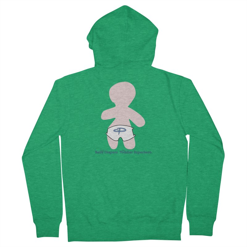 The Toddler Superhero Women's Zip-Up Hoody by OFL BDTS Shop