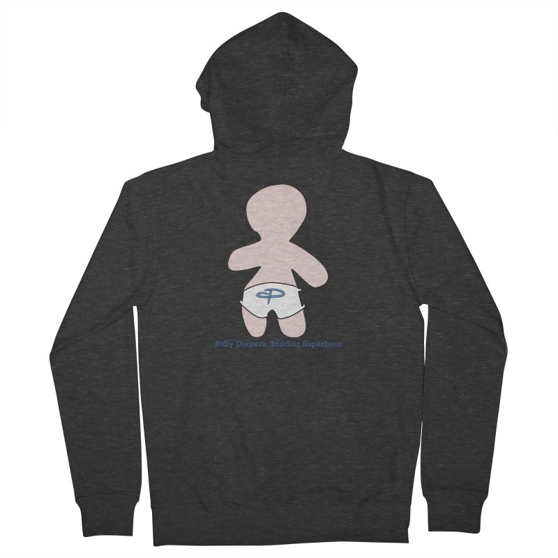 The Toddler Superhero Women's French Terry Zip-Up Hoody by OFL BDTS Shop