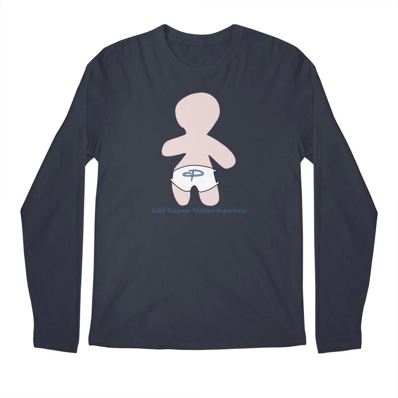The Toddler Superhero Men's Regular Longsleeve T-Shirt by OFL BDTS Shop
