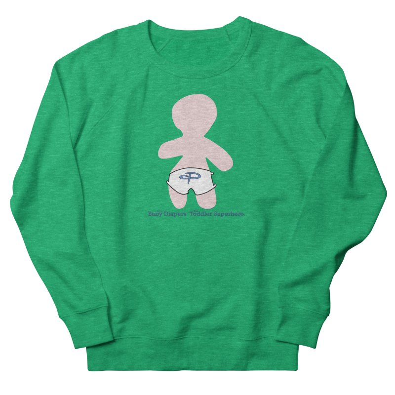 The Toddler Superhero Men's French Terry Sweatshirt by OFL BDTS Shop