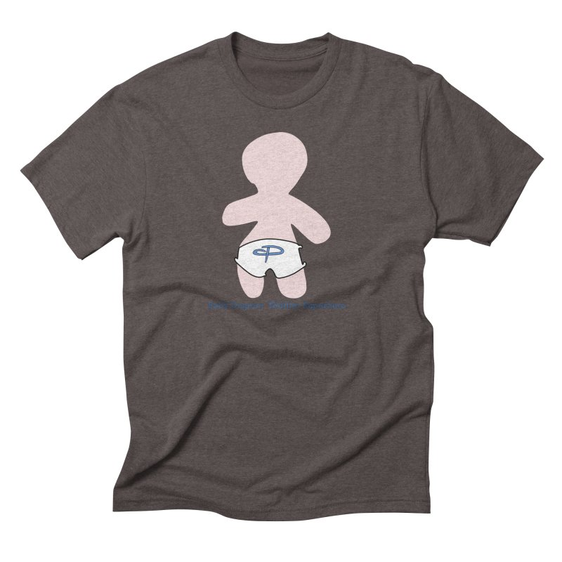 The Toddler Superhero Men's Triblend T-Shirt by OFL BDTS Shop