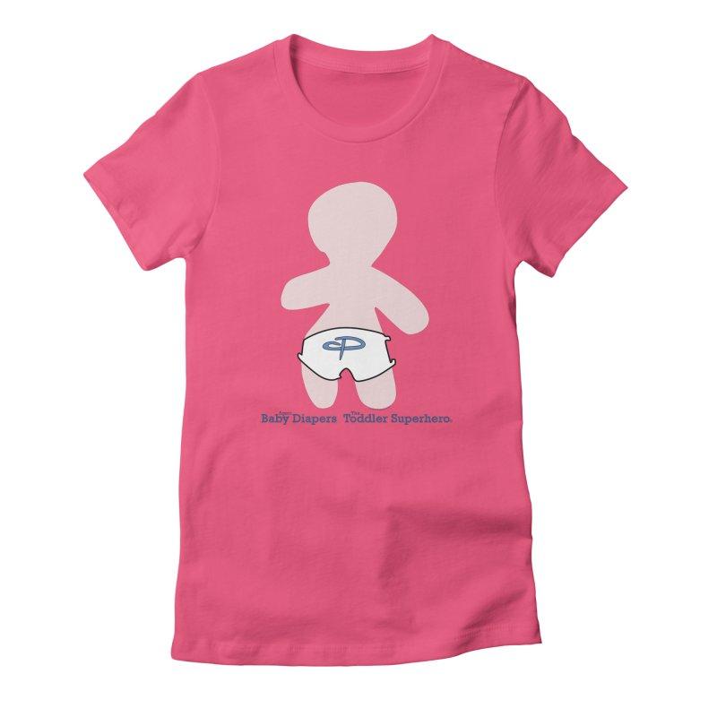 The Toddler Superhero Women's T-Shirt by OFL BDTS Shop