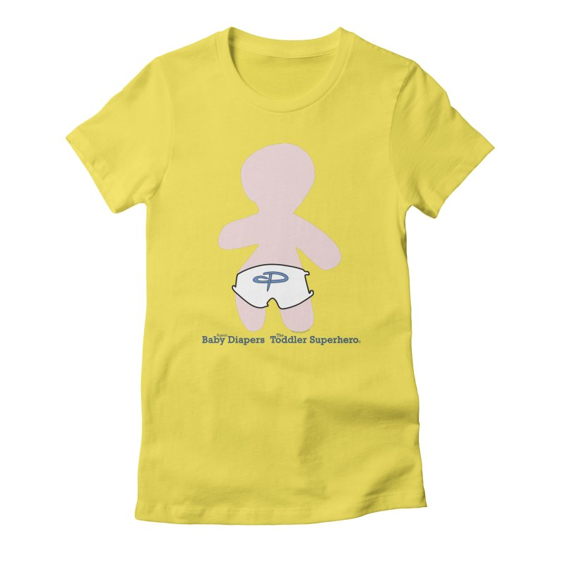 The Toddler Superhero Women's Fitted T-Shirt by OFL BDTS Shop