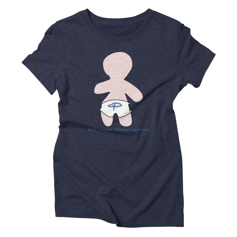 The Toddler Superhero Women's Triblend T-Shirt by OFL BDTS Shop