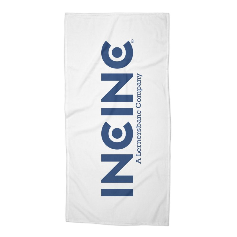 incinc logo Accessories Beach Towel by OFL BDTS Shop