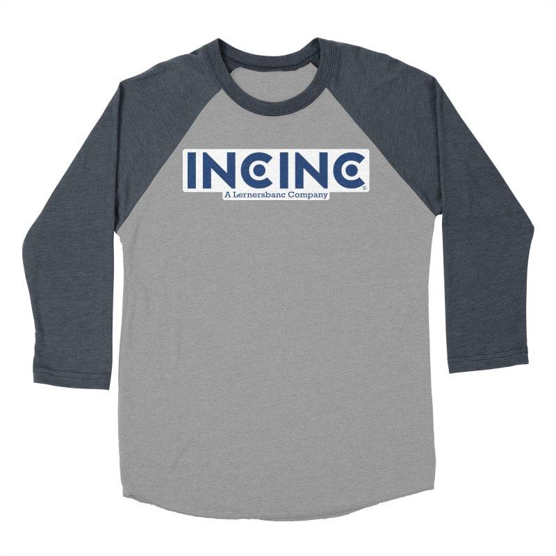 incinc logo Men's Baseball Triblend Longsleeve T-Shirt by OFL BDTS Shop