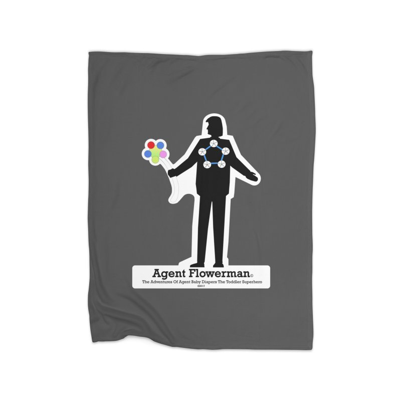 Agent Flowerman Home Blanket by OFL BDTS Shop