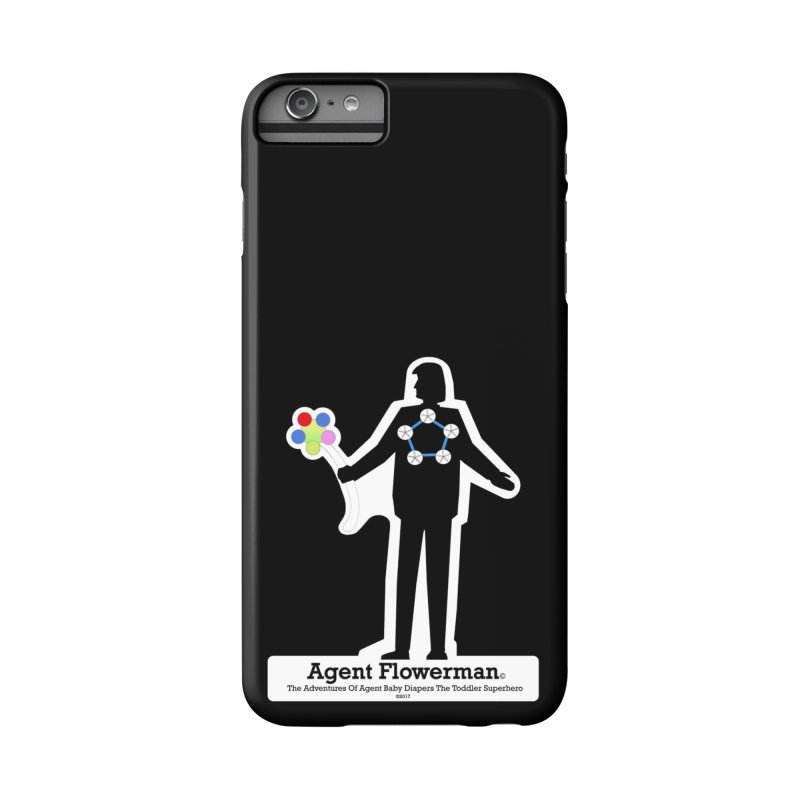 Agent Flowerman Accessories Phone Case by OFL BDTS Shop