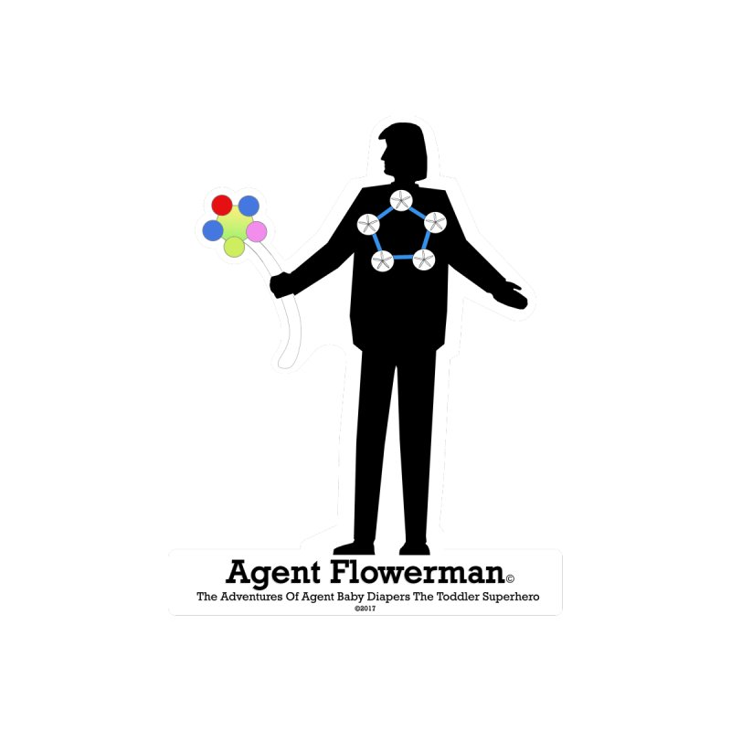 Agent Flowerman Men's T-Shirt by OFL BDTS Shop