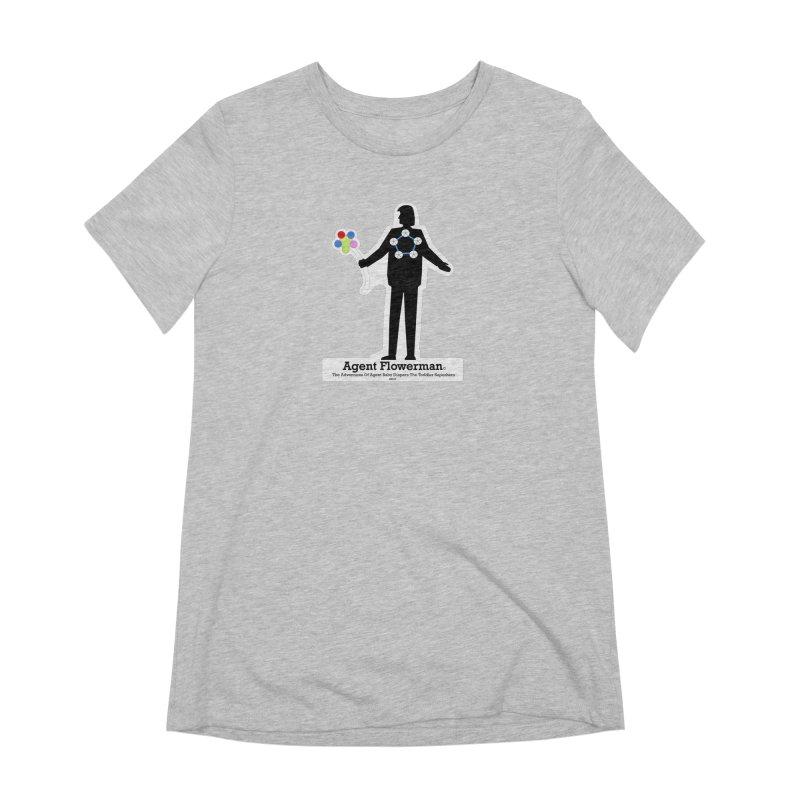 Agent Flowerman Women's Extra Soft T-Shirt by OFL BDTS Shop