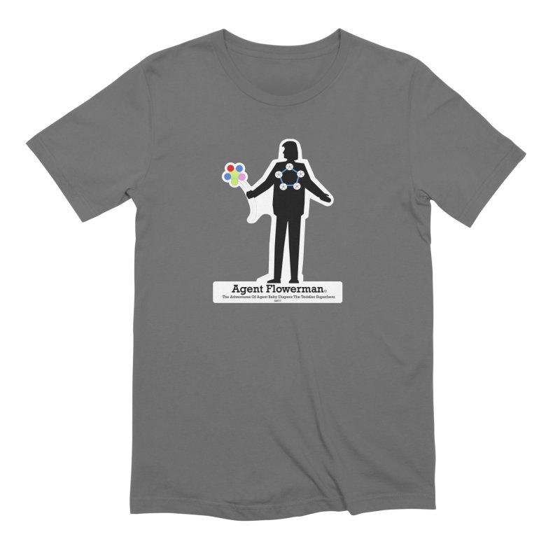 Agent Flowerman Men's Extra Soft T-Shirt by OFL BDTS Shop