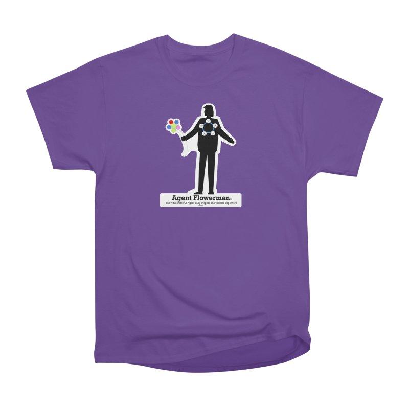 Agent Flowerman Women's Heavyweight Unisex T-Shirt by OFL BDTS Shop