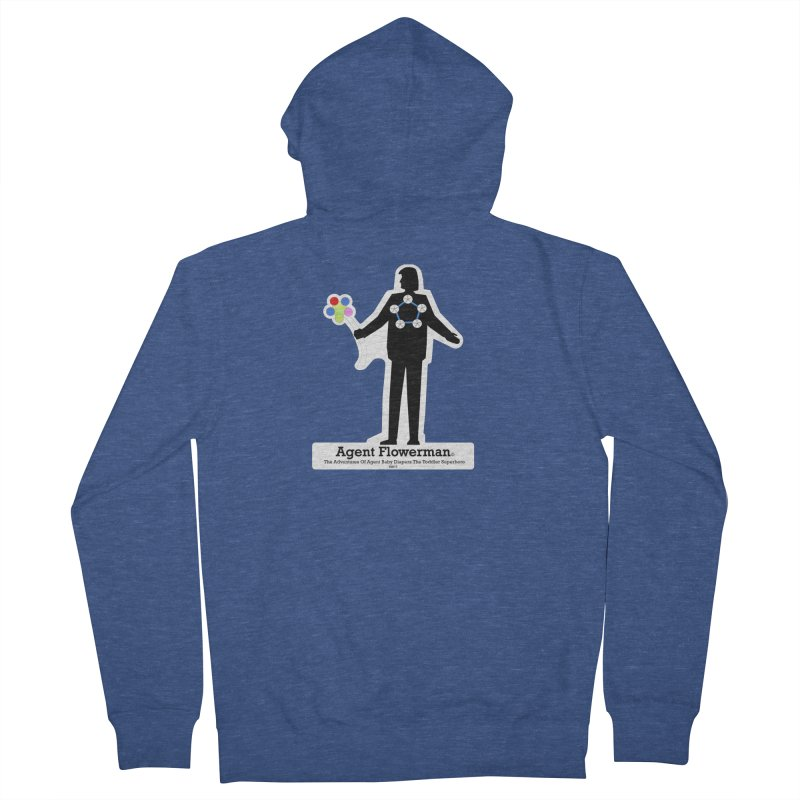 Agent Flowerman Women's French Terry Zip-Up Hoody by OFL BDTS Shop