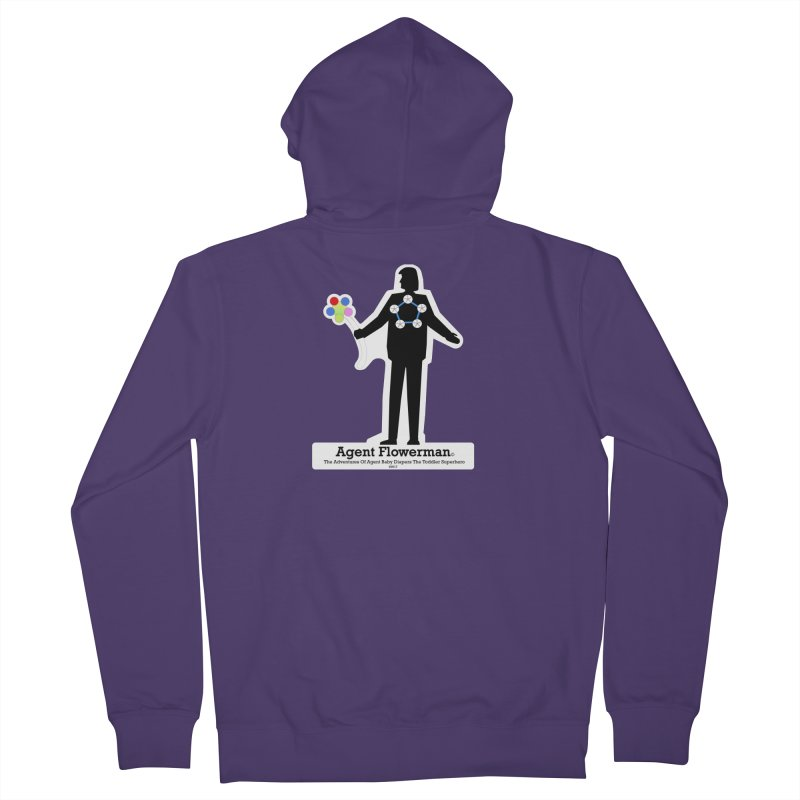Agent Flowerman Women's Zip-Up Hoody by OFL BDTS Shop