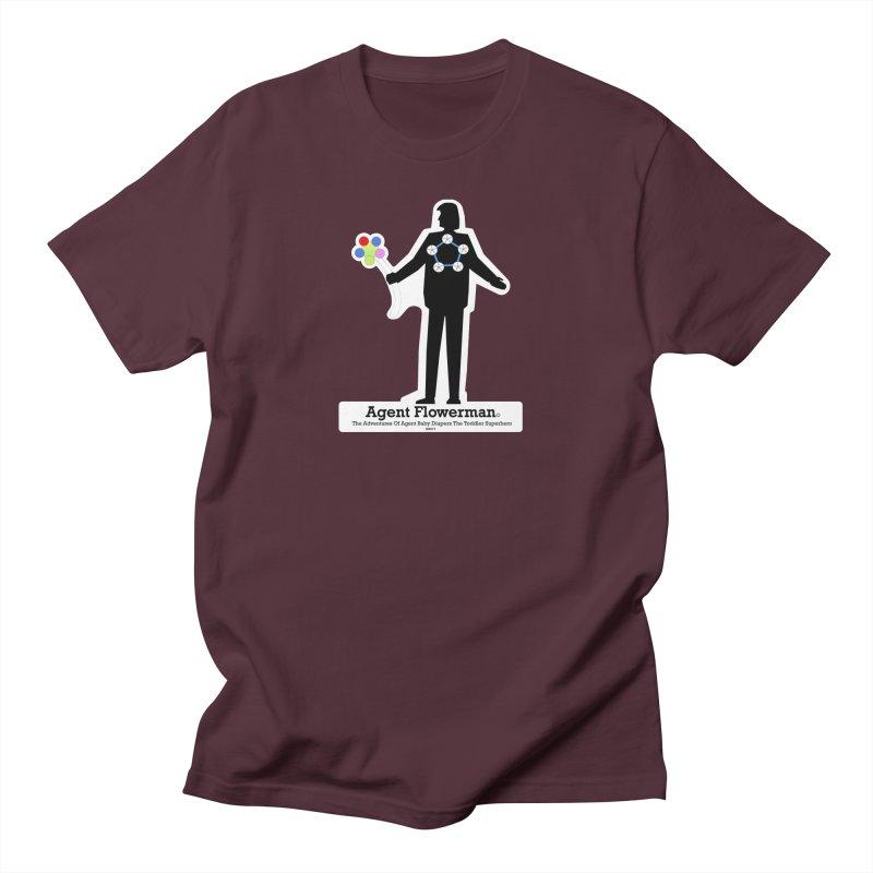Agent Flowerman Women's Regular Unisex T-Shirt by OFL BDTS Shop