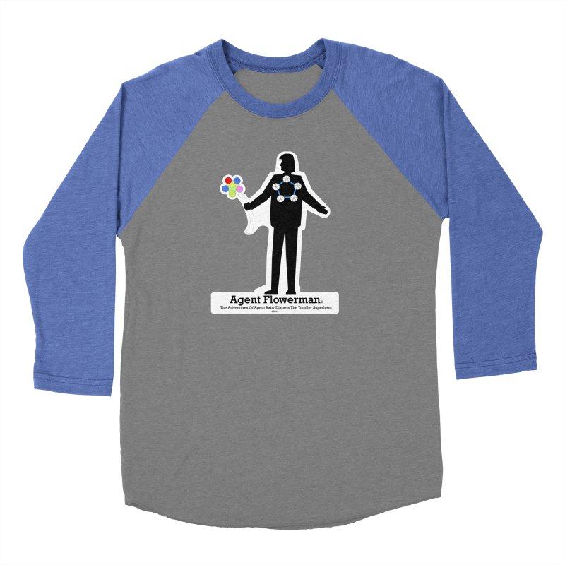 Agent Flowerman Men's Baseball Triblend Longsleeve T-Shirt by OFL BDTS Shop
