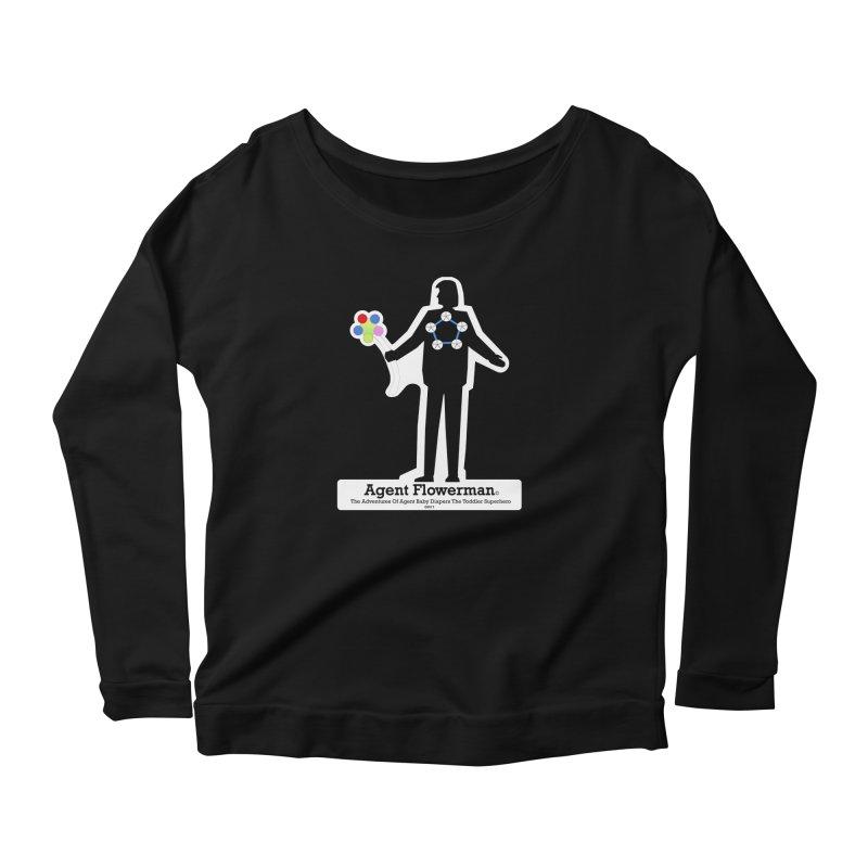 Agent Flowerman Women's Scoop Neck Longsleeve T-Shirt by OFL BDTS Shop