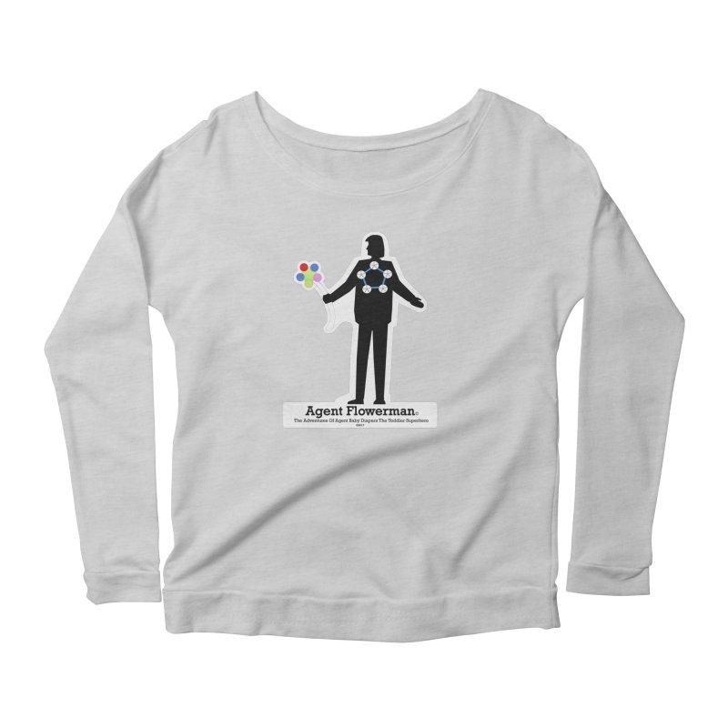 Agent Flowerman Women's Longsleeve T-Shirt by OFL BDTS Shop