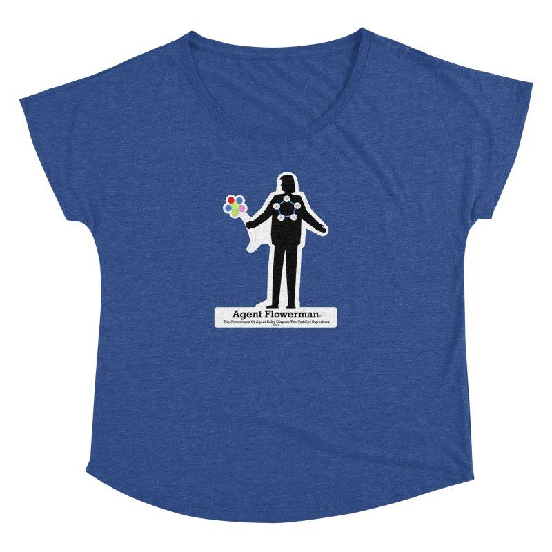 Agent Flowerman Women's Scoop Neck by OFL BDTS Shop