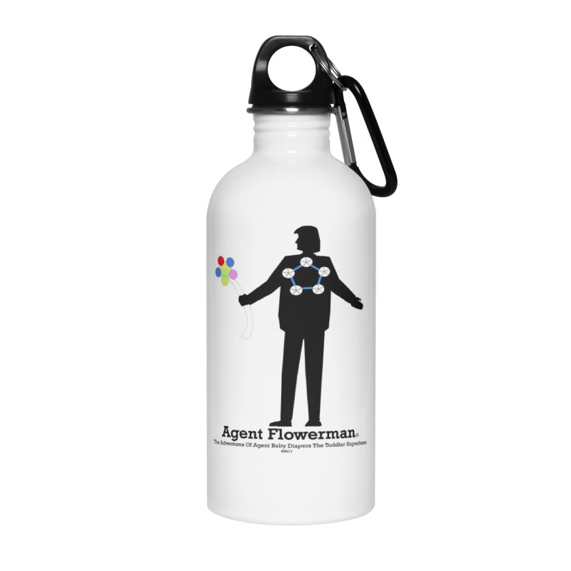 Agent Flowerman Accessories Water Bottle by OFL BDTS Shop