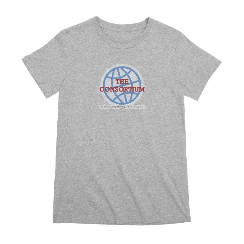 The Consortium Logo Women's Premium T-Shirt by OFL BDTS Shop