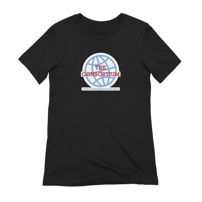 The Consortium Logo Women's Extra Soft T-Shirt by OFL BDTS Shop