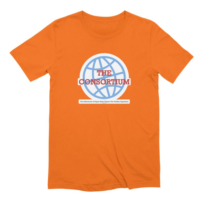 The Consortium Logo Men's Extra Soft T-Shirt by OFL BDTS Shop