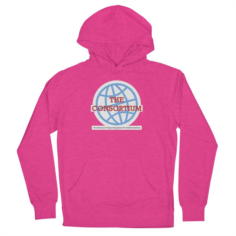 The Consortium Logo Women's French Terry Pullover Hoody by OFL BDTS Shop