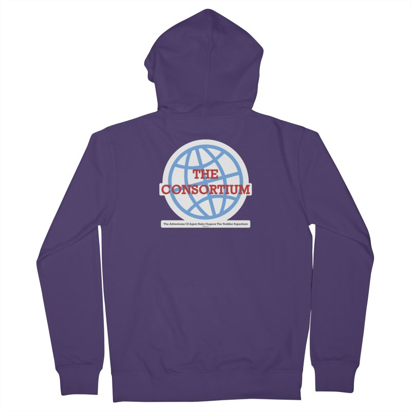 The Consortium Logo Women's French Terry Zip-Up Hoody by OFL BDTS Shop