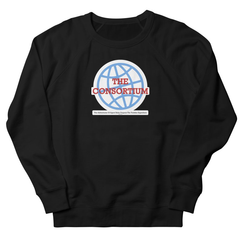 The Consortium Logo Men's French Terry Sweatshirt by OFL BDTS Shop