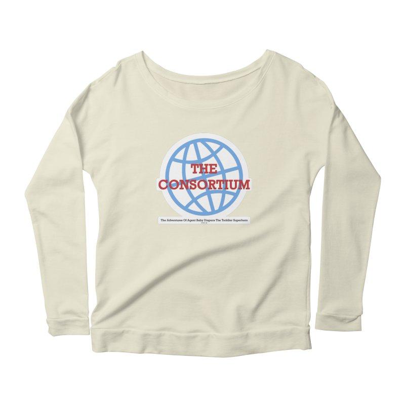 The Consortium Logo Women's Scoop Neck Longsleeve T-Shirt by OFL BDTS Shop