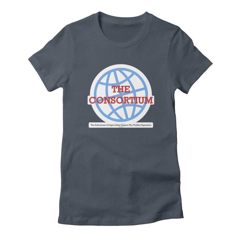 The Consortium Logo Women's T-Shirt by OFL BDTS Shop