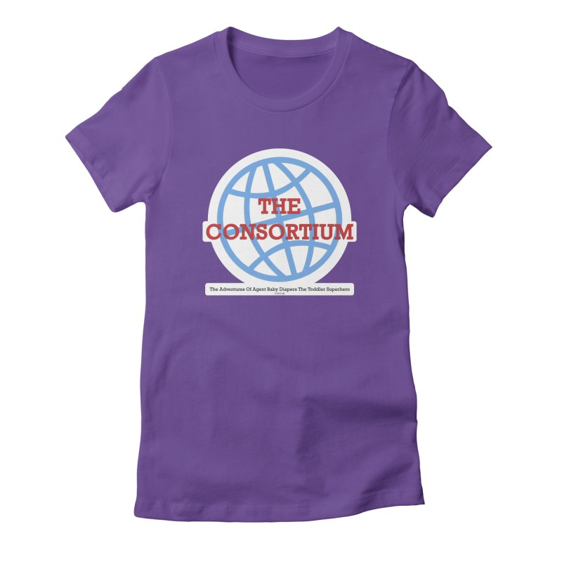 The Consortium Logo Women's Fitted T-Shirt by OFL BDTS Shop
